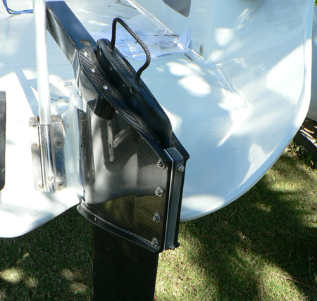 F-22 High Aspect Daggerboard Rudder Case