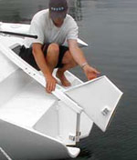 F-32 Daggerboard Rudder Parts Kit