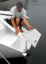 F-9 Daggerboard Rudder Option (F-32/F-33 Style) Parts Kit