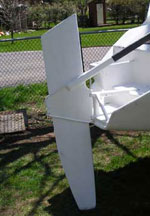 F-82 Daggerboard Rudder Base Parts Kit