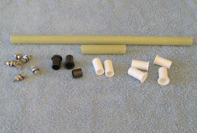 F-9 Daggerboard Rudder Option (F-32/F-33 Style) Parts Kit