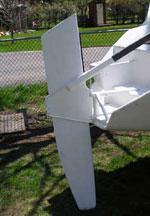 F-82 Daggerboard Rudder Base Parts Kit